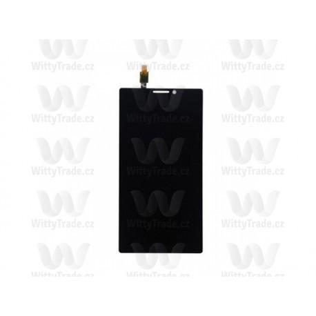 LCD display, dotyková deska a rámeček pro Lenovo K920 Vibe Z2 Pro Black