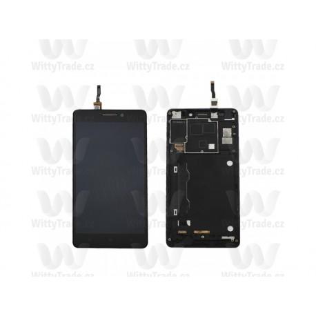 LCD display, dotyková deska a rámeček pro Lenovo K3 Note (K50-T5) Black