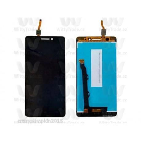 LCD display, dotyková deska a rámeček pro Lenovo A7000 Black