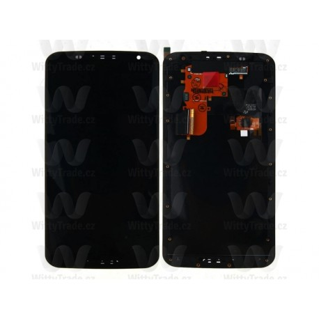 LCD display, dotyková deska a rámeček pro Google Nexus 6 Black