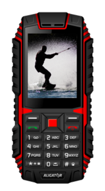 Aligator R12 eXtremo Black / Red