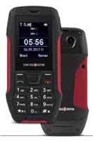 Swisstone SX567 Dual SIM, outdoorový telefon, Black/Red