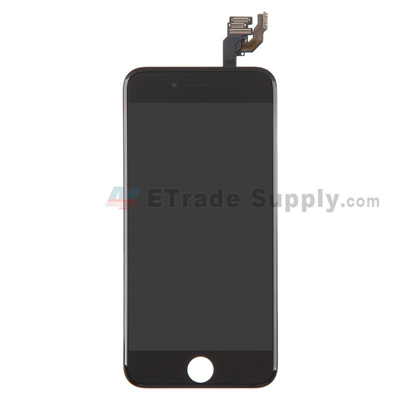 LCD + Touch Full Assembled (without home button) Black pro Apple iPhone 6S