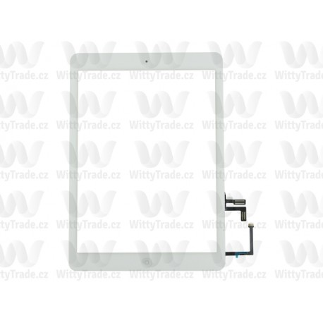 iPad 5 (Air) Touch with Home Button and Original Adhesive White