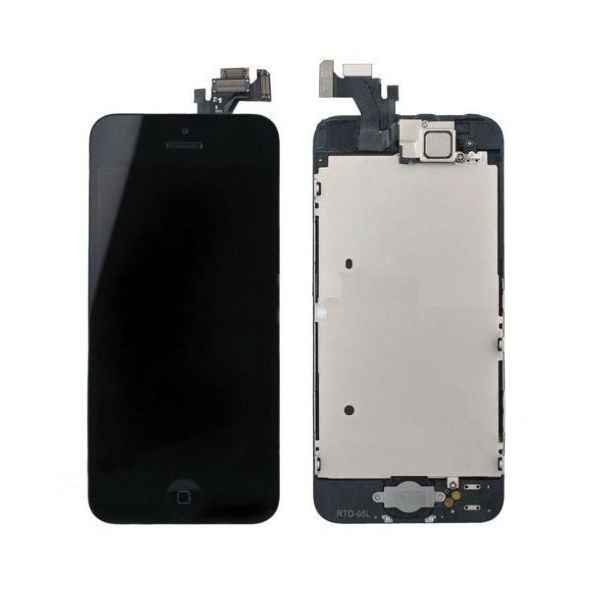 LCD display + Touch Full Assembled (with home button) pro Apple iPhone 5, black