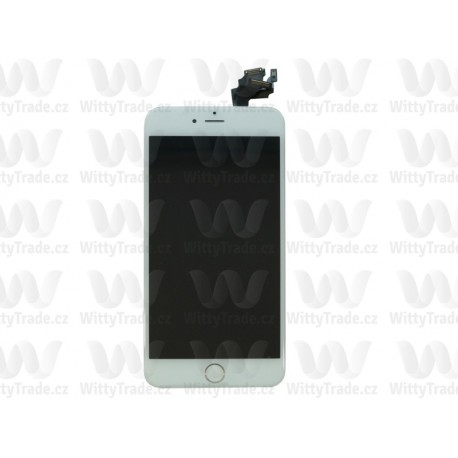 LCD + Touch Full Assembled (without home button) White pro Apple iPhone 6 Plus