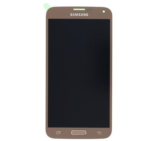 ND Samsung G903 Galaxy S5 Neo LCD + dotyková deska, gold/zlatá