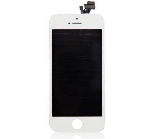 ND iPhone 5 LCD + dotyková jednotka white/bílá (OEM)