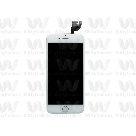 LCD + Touch Full Assembled (without home button) White pro Apple iPhone 6