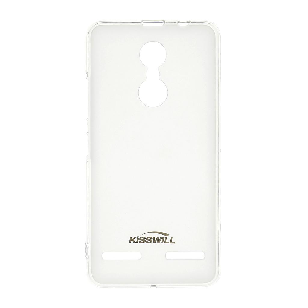 Kisswill silikonové pouzdro pro Lenovo K6 Note transparentní