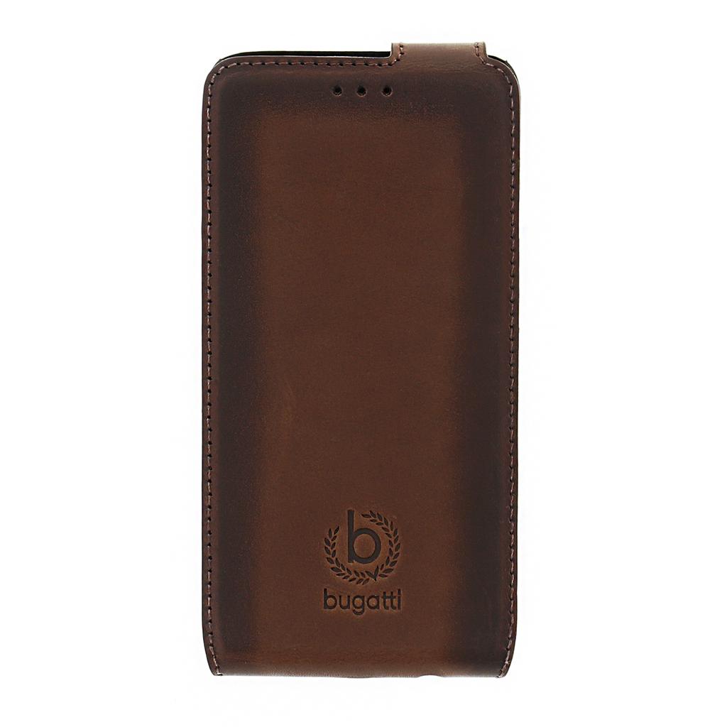 Bugatti Amsterdam Flip Pouzdro Brown pro Samsung Galaxy A3