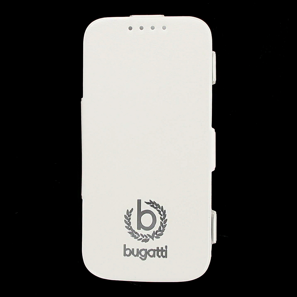 Bugatti Geneva Folio Pouzdro White pro Samsung i9505 Galaxy S4