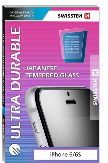 SKLO SWISSTEN ULTRA DURABLE TEMPERED GLASS APPLE IPHONE 5/5S/SE