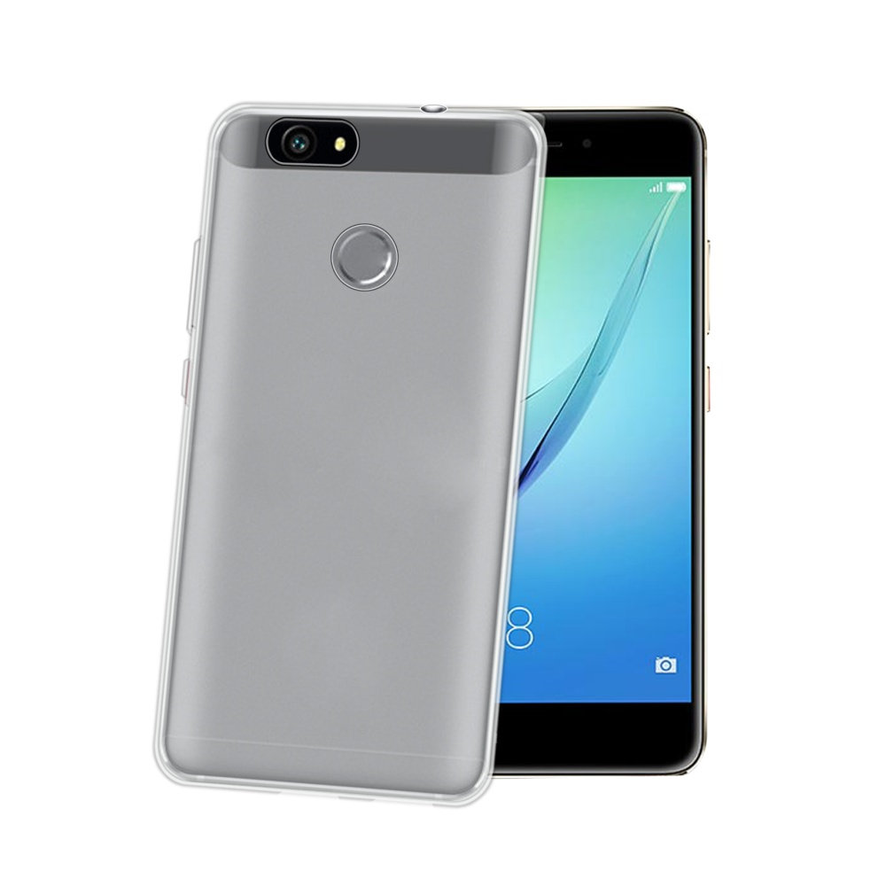 CELLY Gelskin TPU pouzdro pro Huawei Nova, bezbarvé