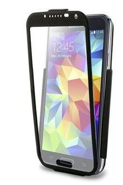 Puro flipové pouzdro Total View Flipper pro Samsung Galaxy S5/S5 Neo, černá