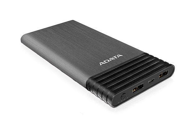 ADATA X7000 Power Bank 7000mAh, USB-A, titanová