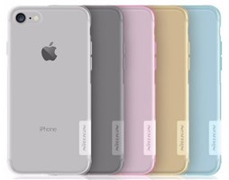 Silikonové pouzdro Nillkin Nature pro Apple iPhone 7, Clear