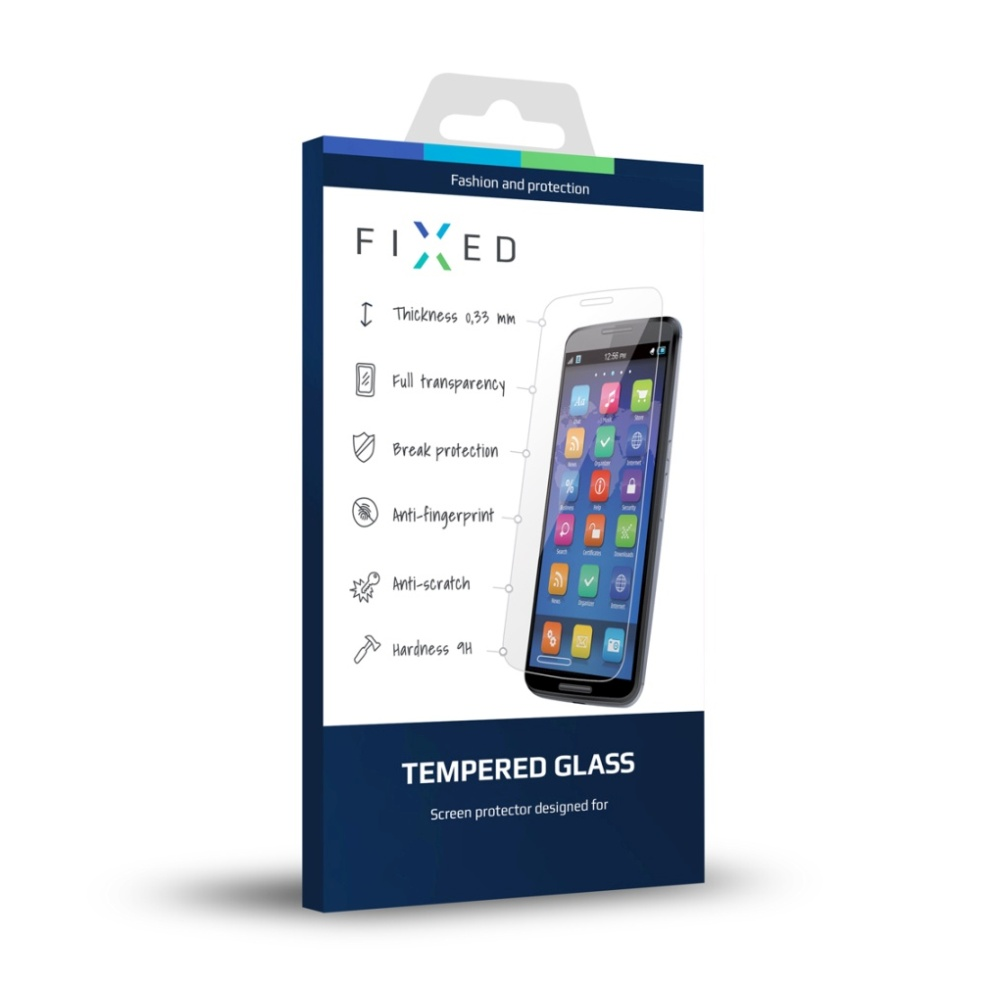 Ochranné tvrzené sklo FIXED pro Samsung Galaxy A7 (2017), 0.33 mm
