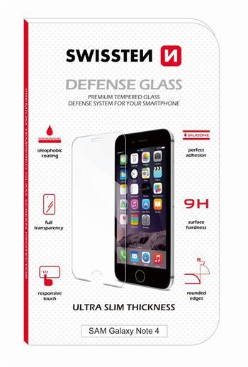 SWISSTEN Tvrzené sklo Samsung Galaxy Note 4 RE 2,5D