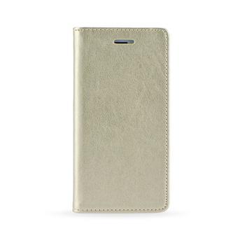 Magnet Book pouzdro flip Samsung Galaxy J3 2017 zlaté