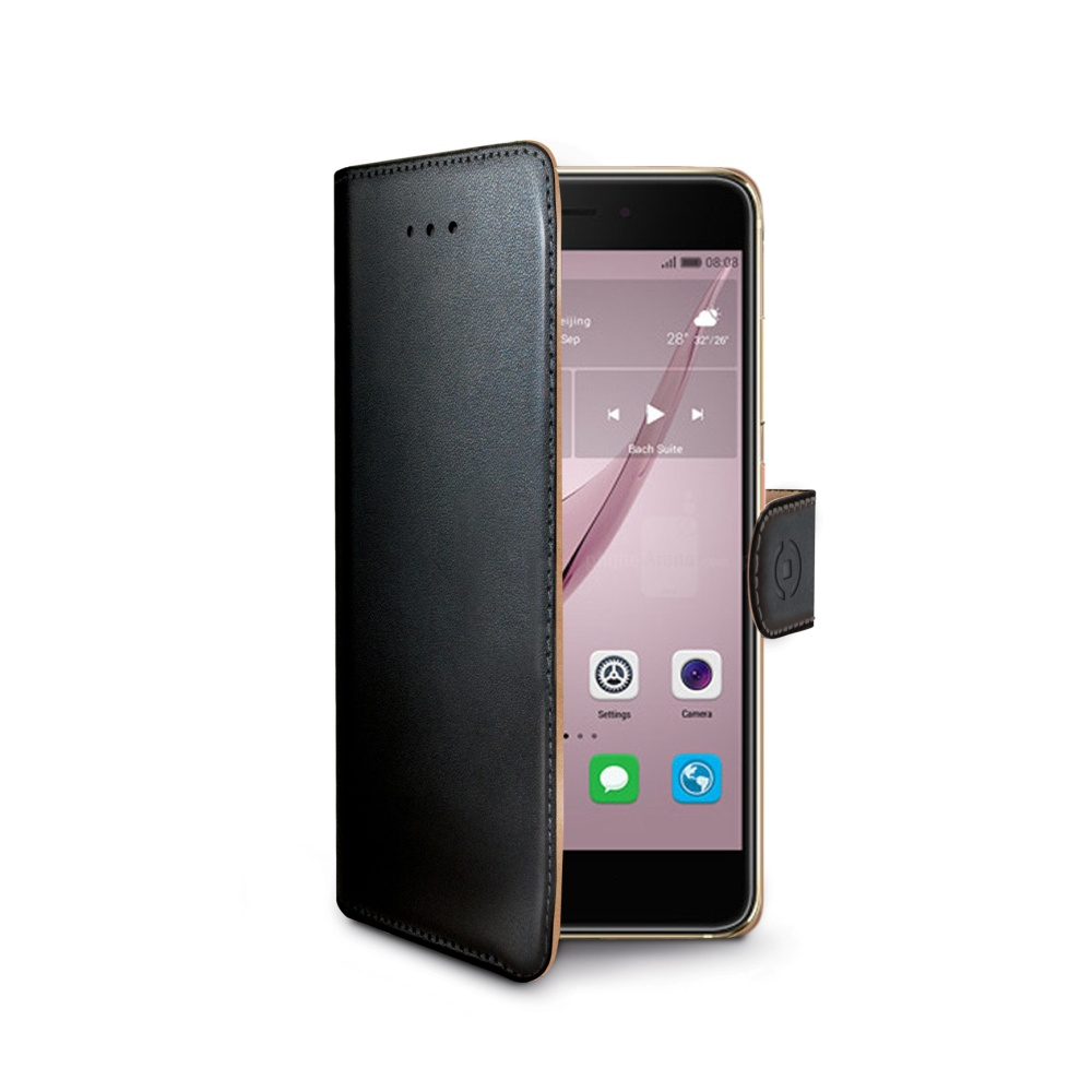 CELLY Wally flipové pouzdro Huawei Nova černé