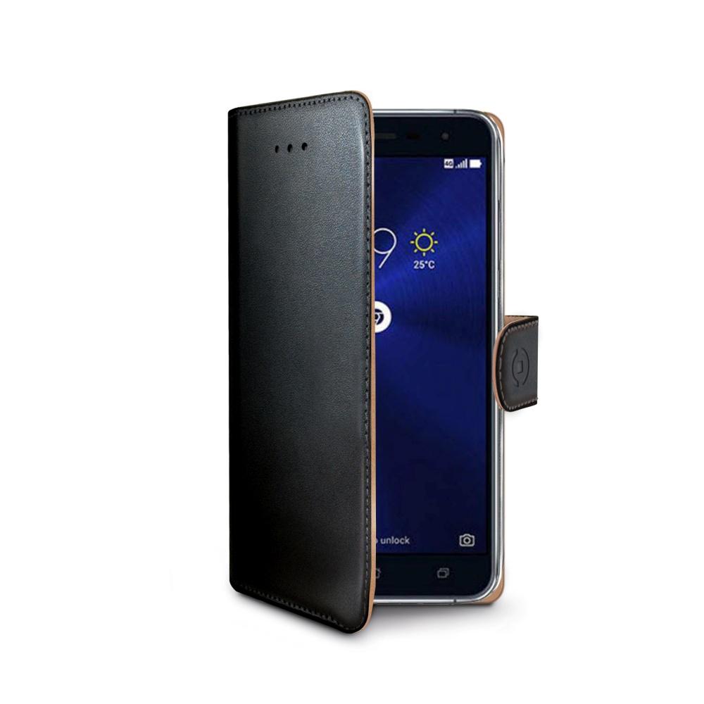 CELLY Wally flipové pouzdro Asus Zenfone 3 ZE520KL černé