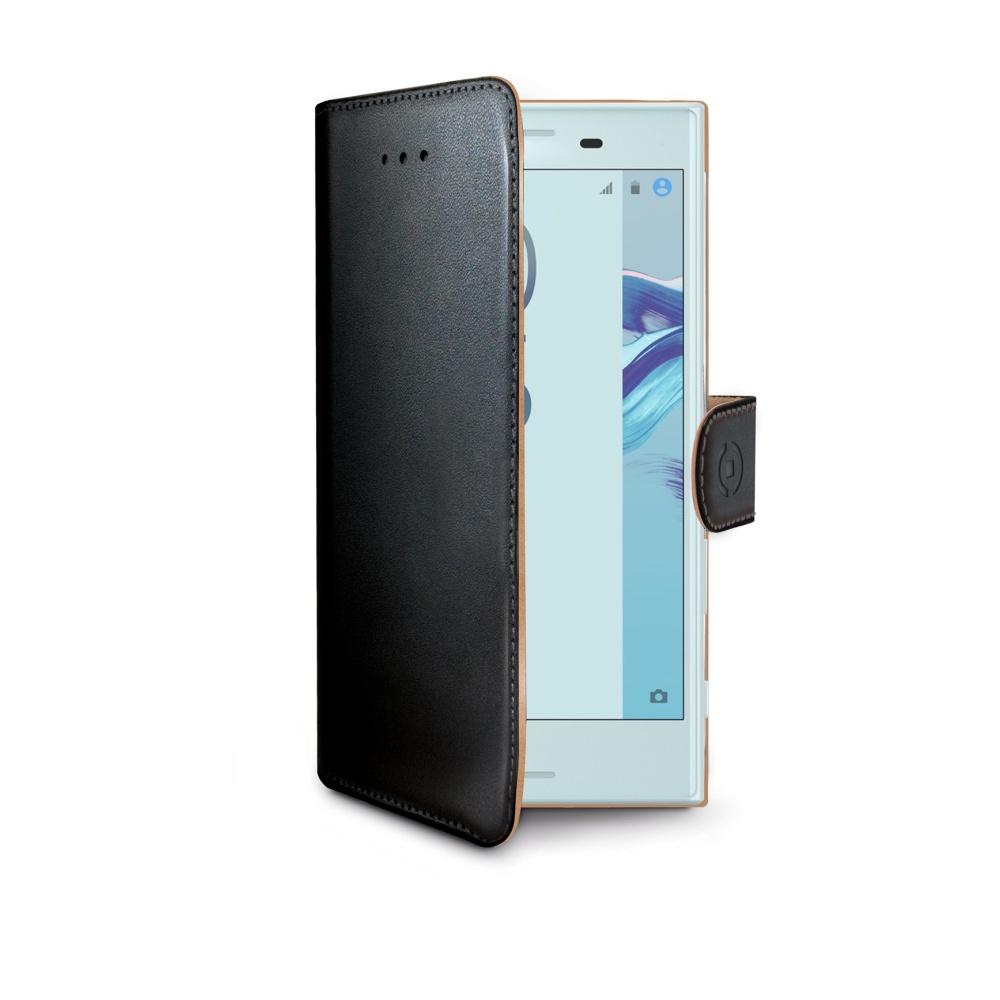 CELLY Wally flipové pouzdro Sony Xperia X Compact černé