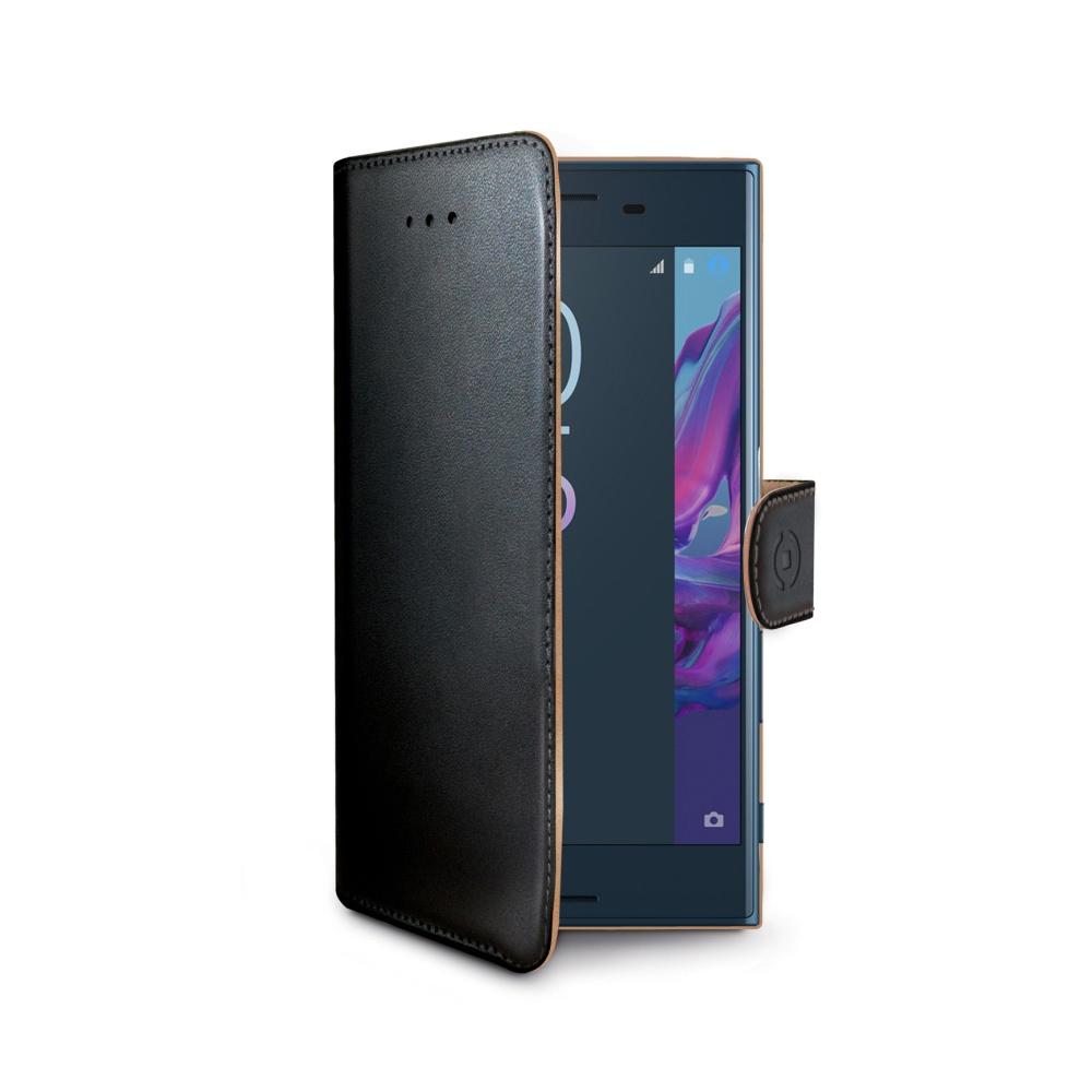 CELLY Wally flipové pouzdro Sony Xperia XZ černé
