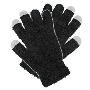 Rukavice pro kapacitní dotykové displeje černé