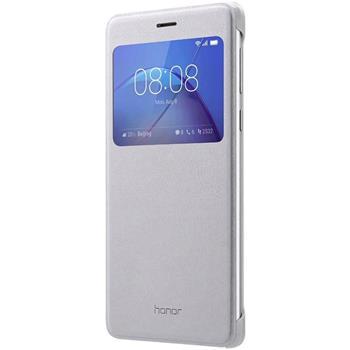 Honor Original S-View flipové pouzdro Honor 6X stříbrné