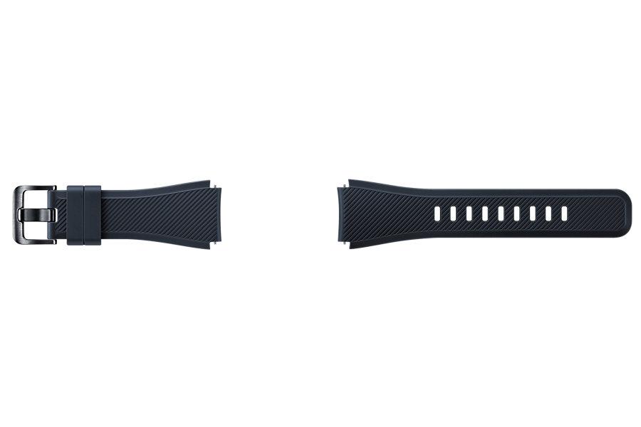 Samsung výměnný pásek silikon Gear S3, Black