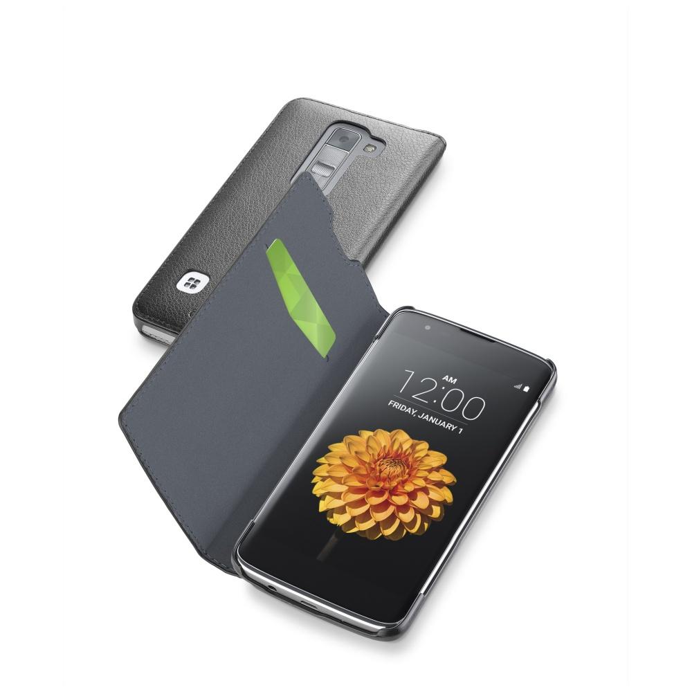 CellularLine Book Essential pouzdro flip LG K7 černé