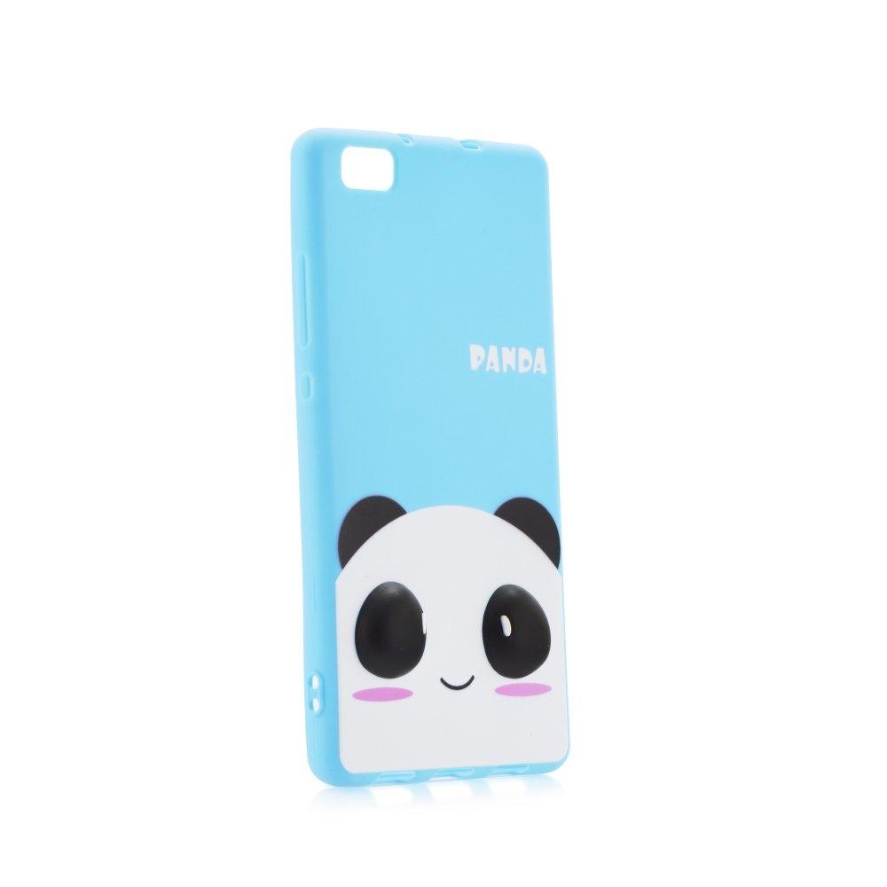 Pouzdro 3D pro Huawei P8 Lite, modrá panda