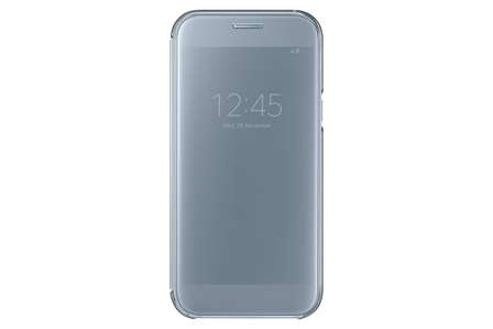 Samsung Clear View Cover pro A5 2017 Blue