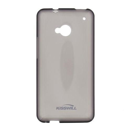 Kisswill silikonové pouzdro pro Asus ZenFone 3 Max ZC553KL černé