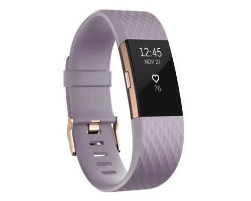 Fitness náramek Fitbit Charge 2 Lavender Rose Gold - Large