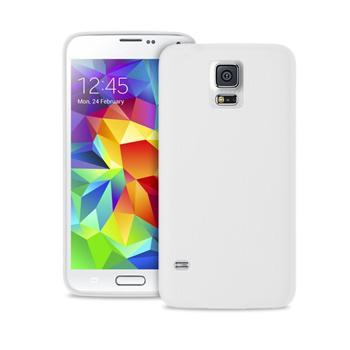 """Puro zadní kryt pro Samsung Galaxy S5 mini ULTRA-SLIM """"0.3"""" s fólií na displej, transparentní"""