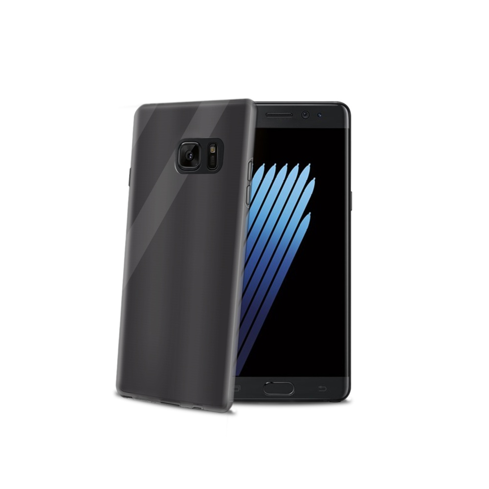 CELLY Gelskin silikonové pouzdro pro Samsung Galaxy Note 7, černé