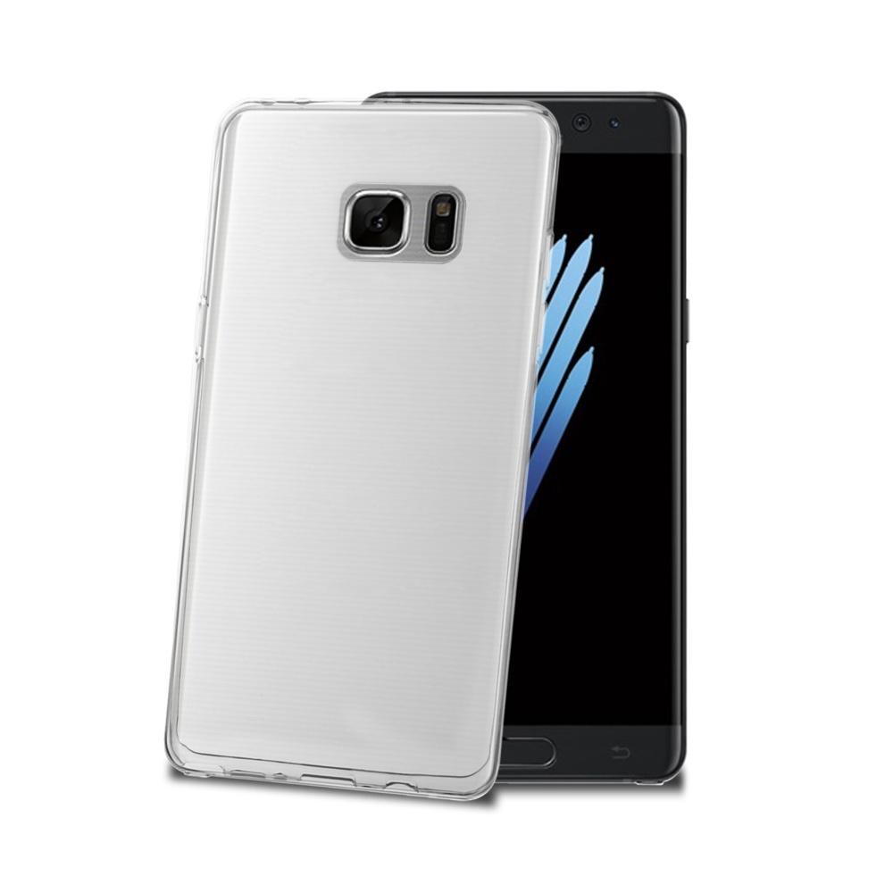 CELLY Gelskin silikonové pouzdro pro Samsung Galaxy Note 7, bezbarvé