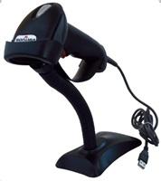 Virtuos laserová čtečka HT-900A, USB (emulace klávesnice/RS232), černá