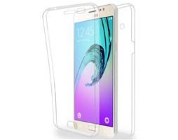 Azuri silikonové pouzdro Front&Back pro Samsung Galaxy J3 2016, Clear