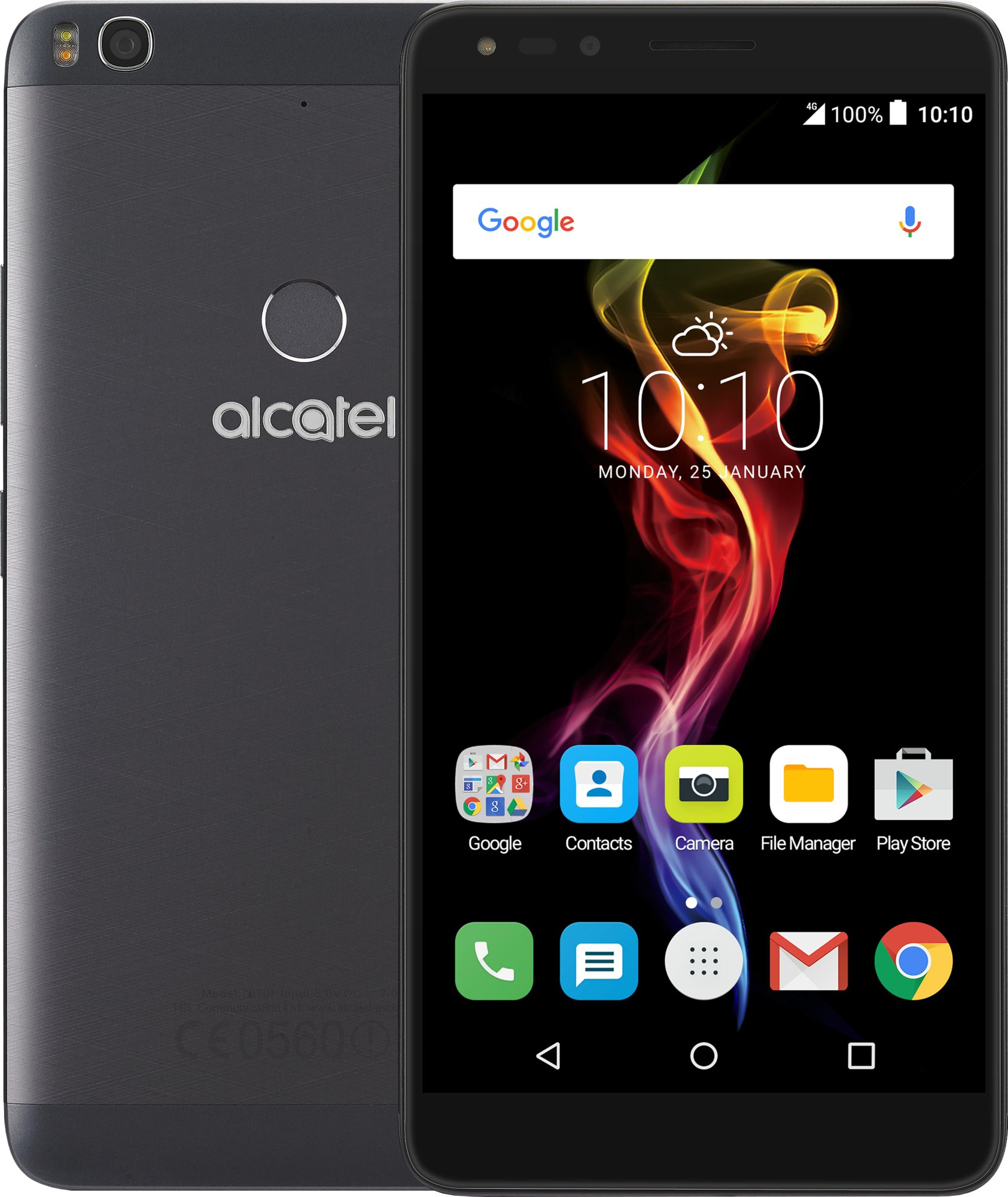Alcatel POP 4 6 7070X Slate Black