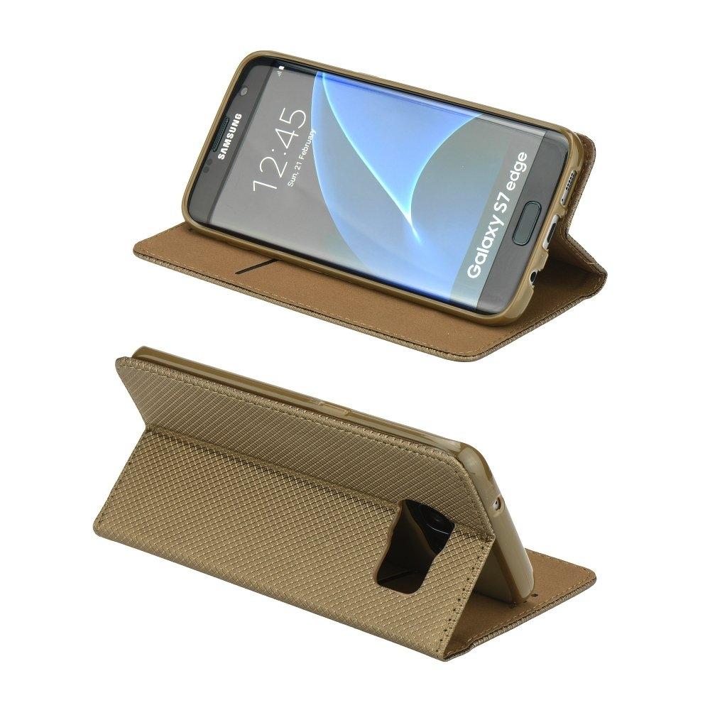Smart Magnet flipové pouzdro Samsung Galaxy A3 2017 zlaté