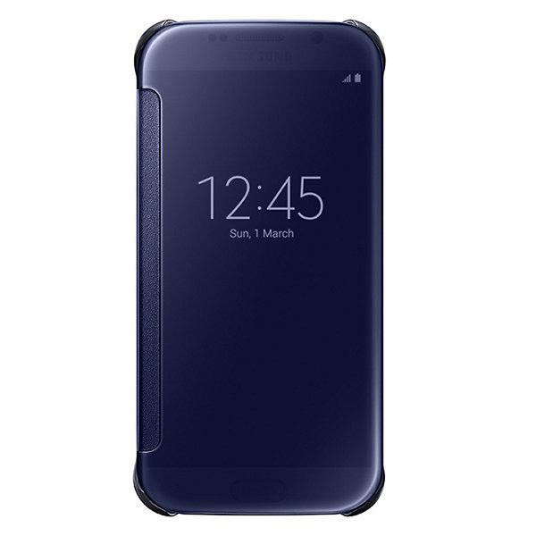 Samsung Clear View Pouzdro Black pro Samsung Galaxy S6 Edge