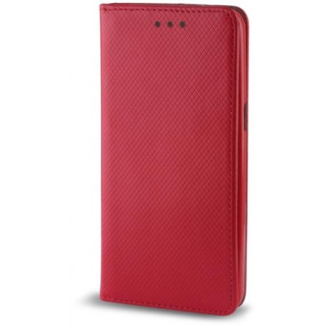 Smart Magnet flipové pouzdro Huawei Honor 7 Lite červené