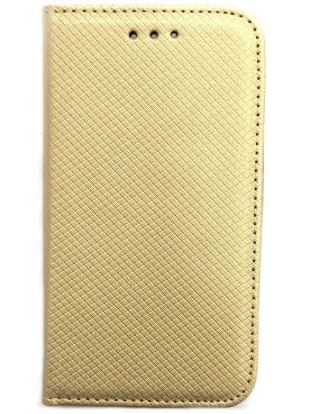 Smart Magnet flipové pouzdro Huawei Y6 II zlaté
