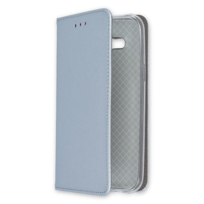 Smart Magnet pouzdro flip Huawei Y6 II Compact metalic
