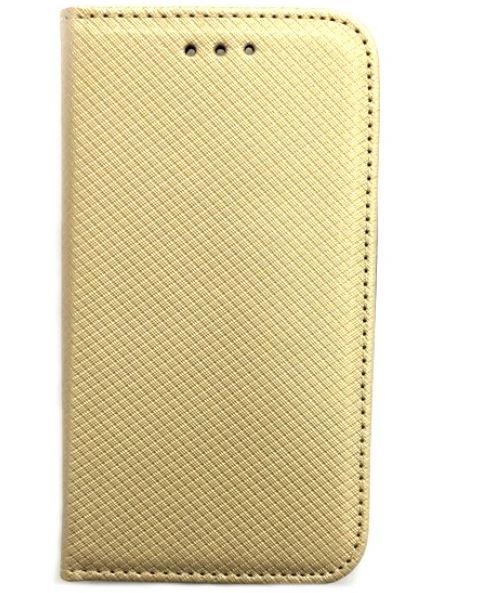 Smart Magnet pouzdro flip Huawei Y6 II Compact zlaté