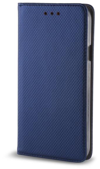 Smart Magnet pouzdro flip Huawei Y6 II Compact tmavě modré