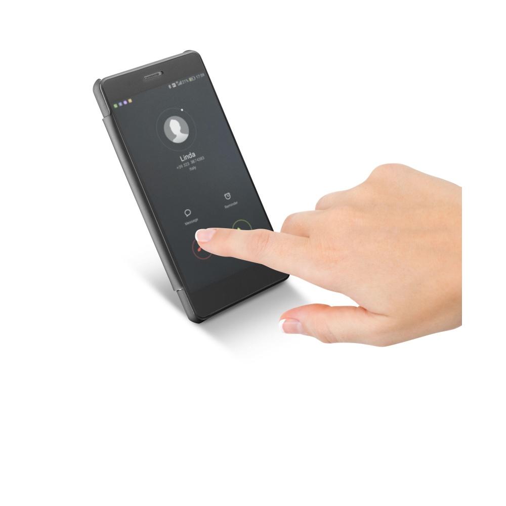 Cellularline Book TOUCH Pouzdro flip Huawei P9 LITE černé